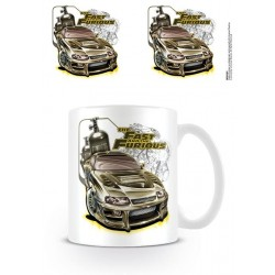 FAST AND FURIOUS - Beker - 300 ml - Nitro 159014  Drinkbekers - Mugs