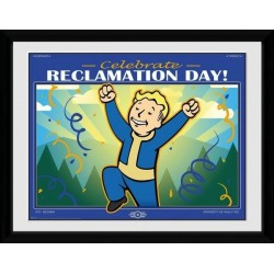 FALLOUT 76 - Collector Print 30X40 - Reclamation Day 170410  Collector Print Canvas