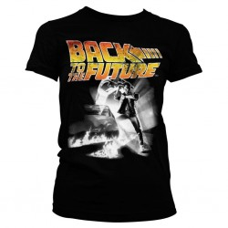 BACK TO THE FUTURE - T-Shirt Poster GIRL (L) 158958 T-Shirts