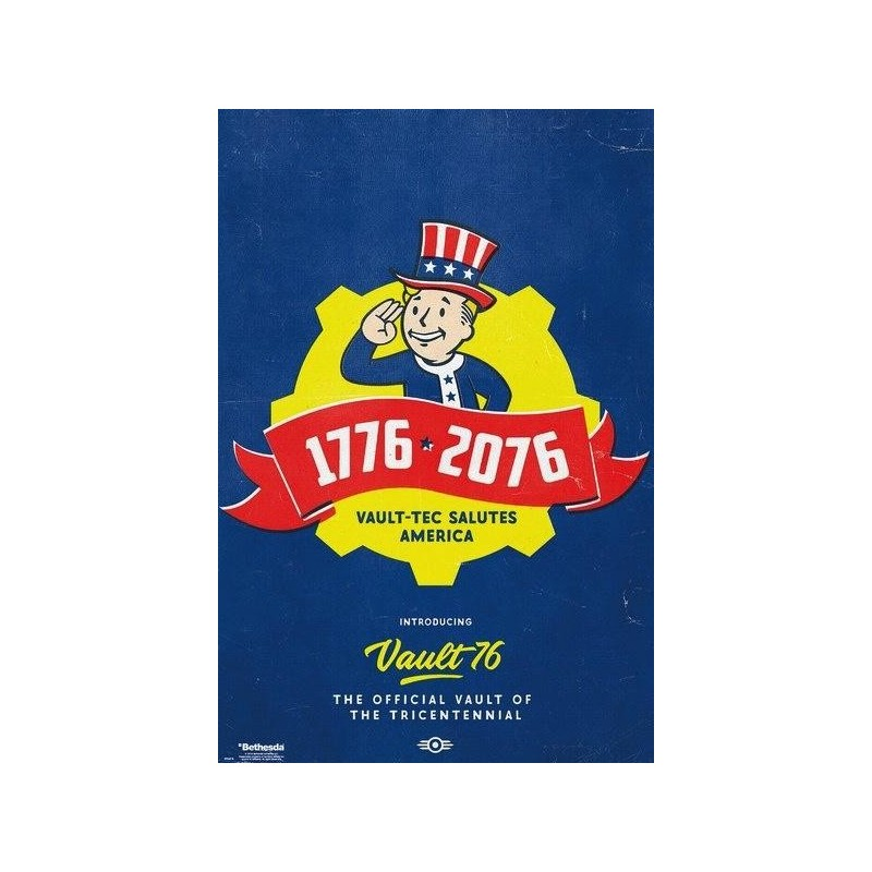 FALLOUT 76 - Poster 61X91 - Tricentennial 170407  Posters