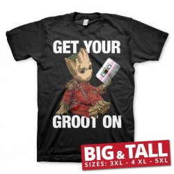 GUARDIANS OF THE GALAXY 2 - T-Shirt Big & Tall - Get Your Groot (4XL) 158946  T-Shirts