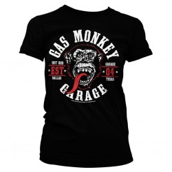 GAS MONKEY - T-Shirt Round Seal GIRL (L) 158856  T-Shirts