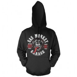 GAS MONKEY - Sweat Hoodie - Round Seal (S) 158844  Hoodies