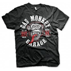GAS MONKEY - T-Shirt Round Seal (S) 158817  T-Shirts
