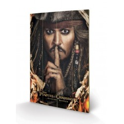 PIRATES OF THE CARIBBEAN - Wood Print 40X59 - Keep A Secret