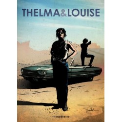 CAR LEGEND - Magnetic Metal Poster 45X32 - Thelma & Louise 158752  Magnetische Posters