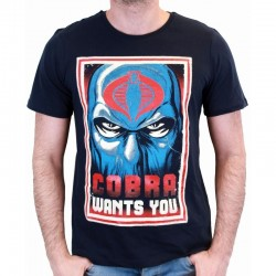 GI JOE - T-Shirt Cobra Wants You (XXL) 158615  T-Shirts GI Joe