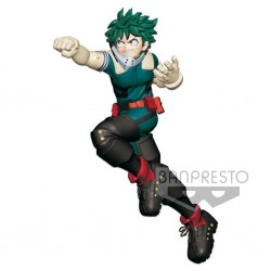 MY HERO ACADEMIA ENTER THE HERO - Figurine Izuku Midoriya - 16cm 170355  Figurines