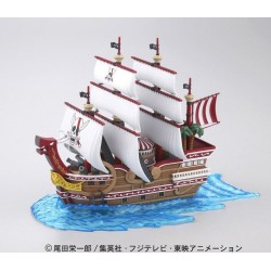 ONE PIECE - Model Kit - Ship - Red Force - 15 CM 157720  Figurines