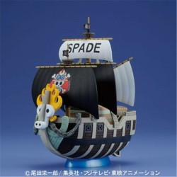 ONE PIECE - Model Kit - Ship - Spade Pirates - 15 CM 157717  One Piece