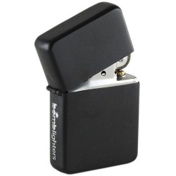 LIGHTER - Black 'TIN BOX' 157655  Aanstekers