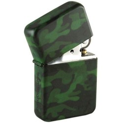 LIGHTER - Camo Spray 'TIN BOX' 157654  Aanstekers
