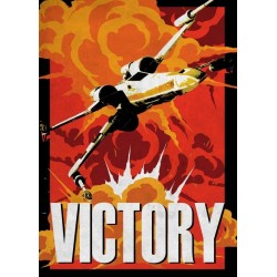 GALACTIC PROPAGANDA - Magnetic Metal Poster 45x32 - Victory 157571  Magnetische Posters