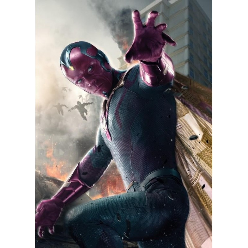 AGE OF ULTRON CHARACTERS - Magnetische Metalen Poster 45x32 - Vision 157552 Magnetische Posters