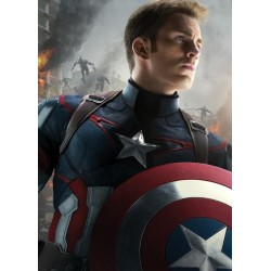AGE OF ULTRON CHARACTERS - Magnetic Metal Poster 45x32 - Cpt America 157546  Magnetische Posters