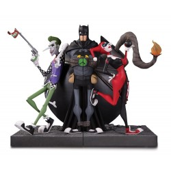 DC GALLERY - Joker and Harley Quinn Bookends - 20cm 157377  Figurines