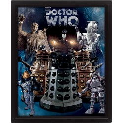 DOCTOR WHO - 3D Lenticular Poster 26X20 - Aliens 157272  Posters
