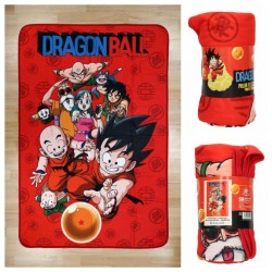 DRAGON BALL - Polar Blanket 100X150 cm - Characters - TShirt  171630  Fleece Dekens
