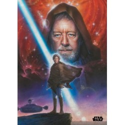 EPISODE IV A NEW HOPE- Magnetische Metalen Poster 45x32 - New Hope