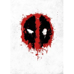 DEADPOOL MERC - Magnetic Metal Poster 45x32 - Spray Tag 157249  Magnetische Metalen Posters