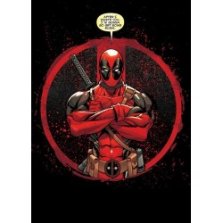 DEADPOOL MERC - Magnetic Metal Poster 45x32 - Evening Plans 157248  Magnetische Metalen Posters
