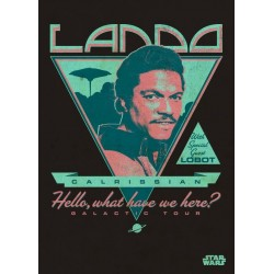 STAR WARS LEGENDS - Magnetic Metal Poster 45x32 - Lando Calrissian 157230  Star Wars