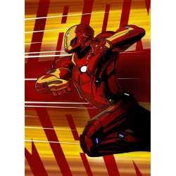 CIVIL WAR SHOWDOWN - Magnetic Metal Poster 45x32 - Iron Man 157222  Magnetische Metalen Posters