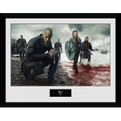 VIKINGS - Collector Print 30X40 - Blood Landscape 157199  Collector Print Canvas
