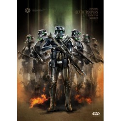 ROGUE ONE KEY FORCES - Magnetic Metal Poster 45x32 - Death Troopers 157173  Magnetische Metalen Posters