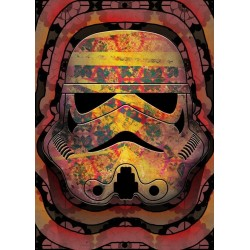 STAR WARS MASKED TROOPER - Magnetische Metalen Poster 45x32 - Echo