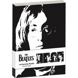 THE BEATLES - Pack 4 x Exercise Books A6 - Revolver 170307  Boeken