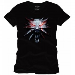 THE WITCHER - T-Shirt Medaillon (XL) 157100  T-Shirts The witcher
