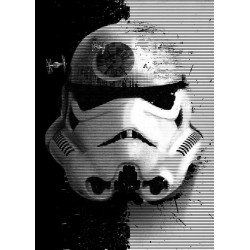 STAR WARS MASKED TROOPER - Magnetic Metal Poster 45x32 - Startrooper
