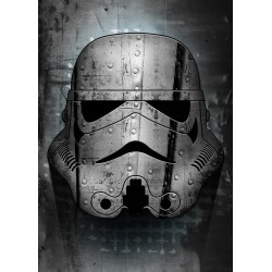STAR WARS MASKED TROOPER - Magnetic Metal Poster 45x32 - Irontrooper