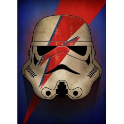 STAR WARS MASKED TROOPER - Magnetic Metal Poster 45x32 - Ziggy