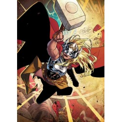 MARVEL ALL NEW - Magnetische Metalen Poster 45x32 - Thor Jane Foster (M)