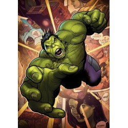 MARVEL ALL NEW - Magnetische Metalen Poster 45x32 - Hulk (M)