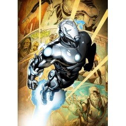 MARVEL ALL NEW - Magnetic Metal Poster 45x32 - Superior Iron Man (M)