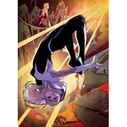 MARVEL ALL NEW - Magnetic Metal Poster 45x32 - Spider Gwen (M) 157020  Magnetische Posters