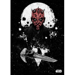 STAR WARS PILOTS - Magnetic Metal Poster 45x32 - Scimitar / Darth Maul 157013  Star Wars