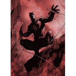 MARVEL DARK EDITION - Magnetische Metalen Poster 45x32 - Daredevil