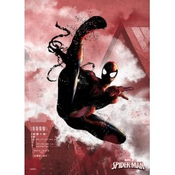 MARVEL DARK EDITION - Magnetic Metal Poster 45x32 - Spider-Man