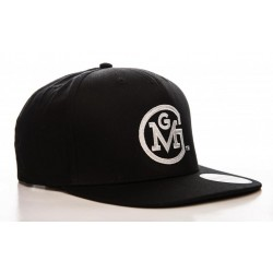 GAS MONKEY GARAGE - Round Logo Snapback Cap 156967  Gas Monkey Petten & Caps
