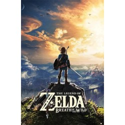 ZELDA - Poster 61X91 - Breath of the Wild 'Sunset' 156900  Posters