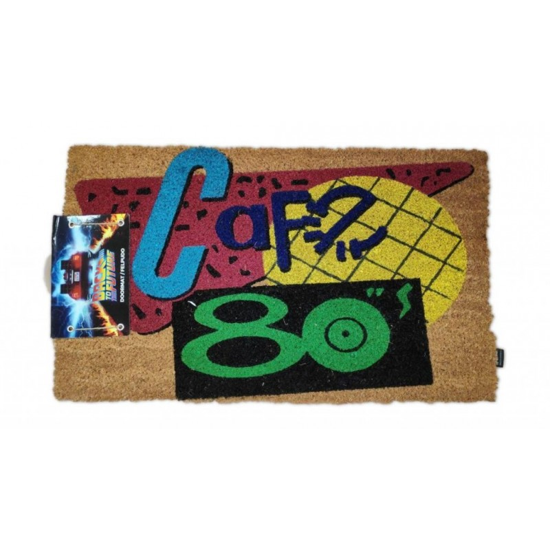BACK TO THE FUTURE - Doormat - 80s Cafe - P.Derive  171627  Back to the future