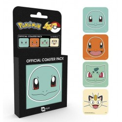 POKEMON - Official Coaster Pack - Faces