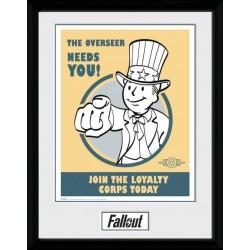 FALLOUT 4 - Collector Print 30X40 - Needs You 156776  Posters