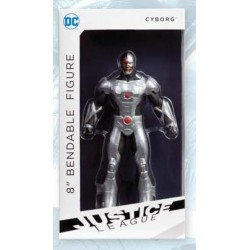 DC COMICS Justice League New 52 - Bendable Figure - Cyborg - 20Cm 156730  Figurines
