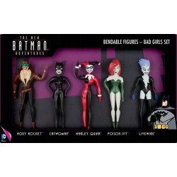 BATMAN - Bendable Figures - Bad Girls Set 5 Pces