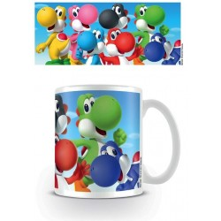 NINTENDO - Mug - 300 ml - Super Mario Yoshi 156632  Drinkbekers - Mugs